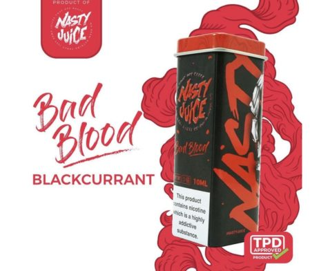 Bad Blood Nasty Juice E liquid