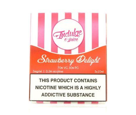 Strawberry Delight Indulge E Liquid
