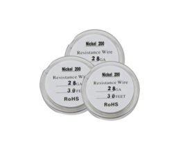 Nickel Ni 200 Wire 28 Gauge