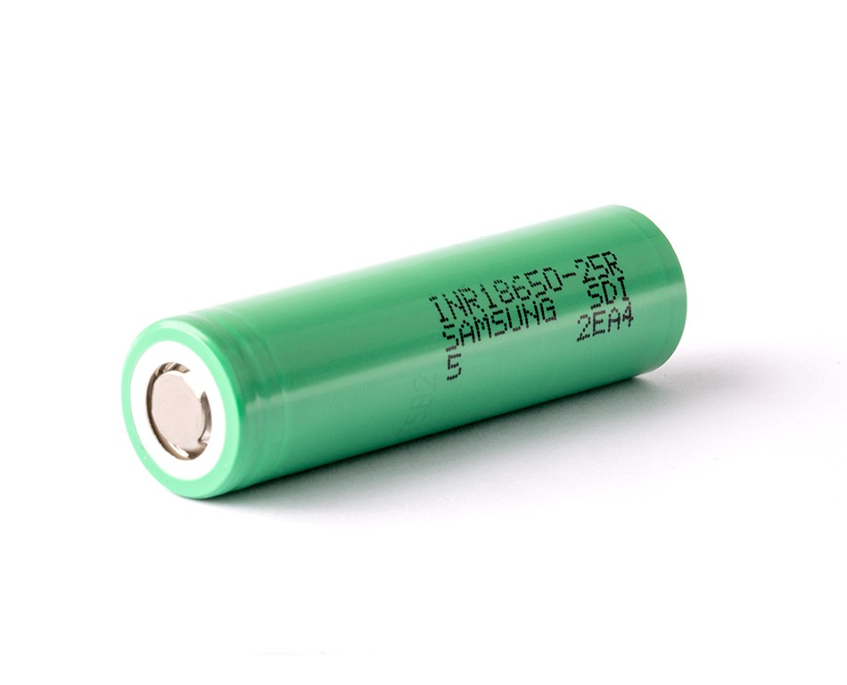 samsung-inr-18650-25r green battery