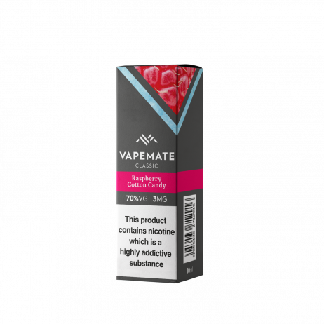 Raspberry Cotton Candy Vapemate E Liquid