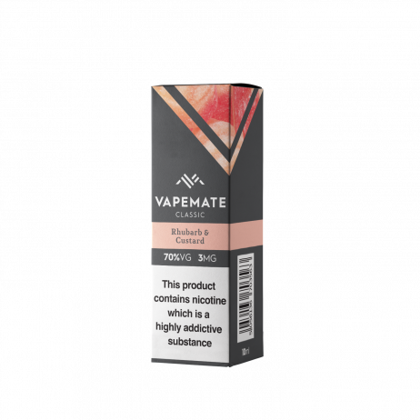 Rhubarb and Custard Vapemate E Liquid