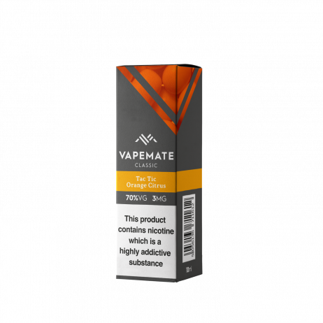 Tac Tic Orange Citrus Vapemate E Liquid