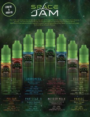 Space Jam E liquid
