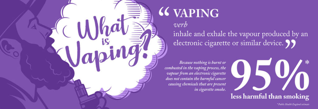 what is vaping infographic