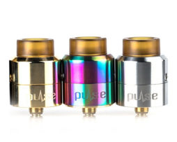 Vandyvape Pulse BF RDA trio in gold, silver & rainbow