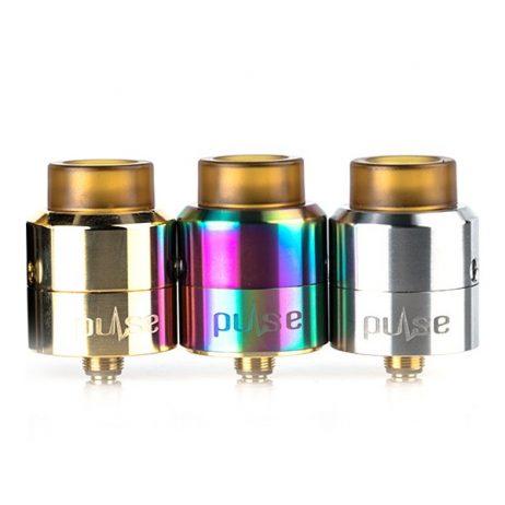 Vandyvape Pulse BF RDA trio in gold, silver & rainbow