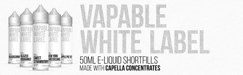 Shortfills Made with Capella Concentrates