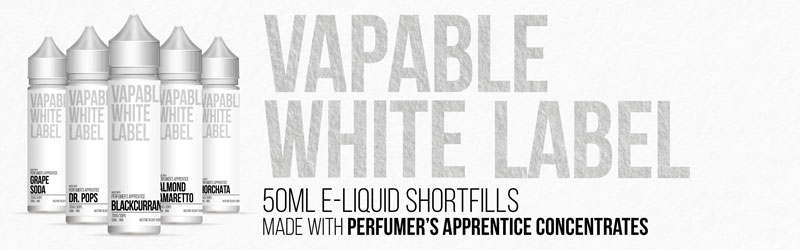 Shortfills Made With Perfumers Apprentice Concentrates