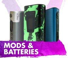E Cig Batteries and Mods