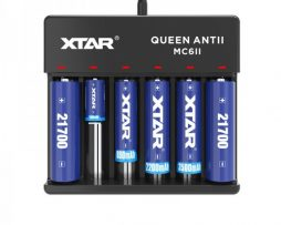 XTAR MC6 (V2) Battery Charger