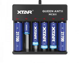 XTAR MC6 (V2) Battery Charger