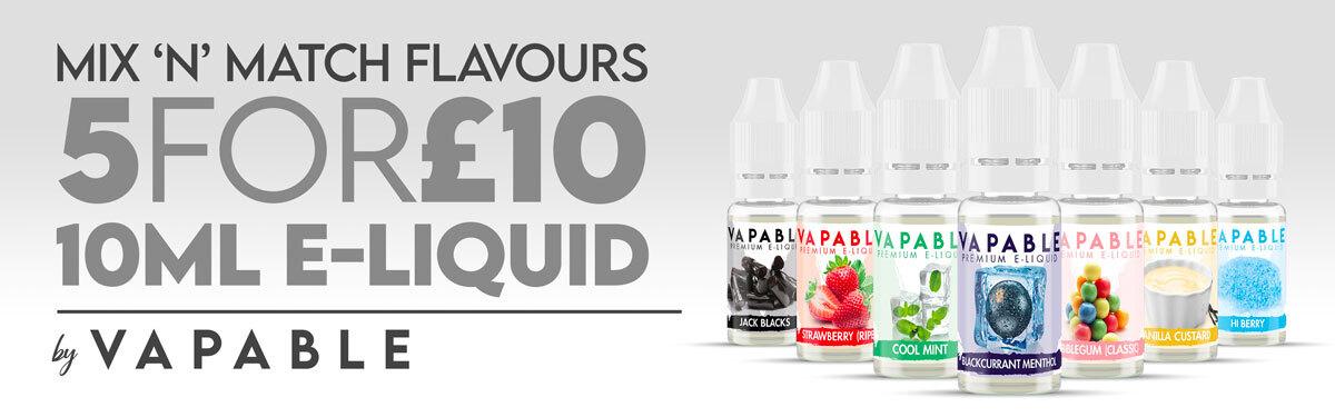 vapable 10ml e-liquid